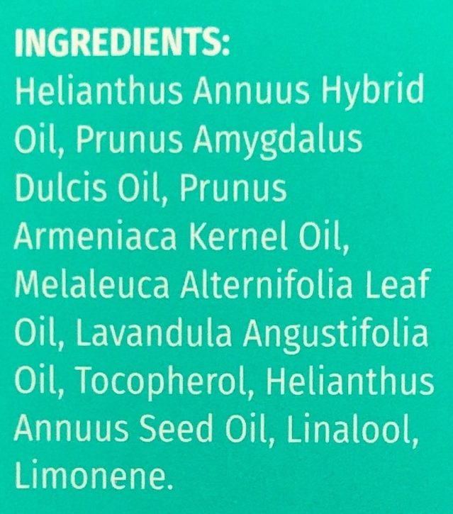 Huile nourrissante pour ongles - Ingredients - fr
