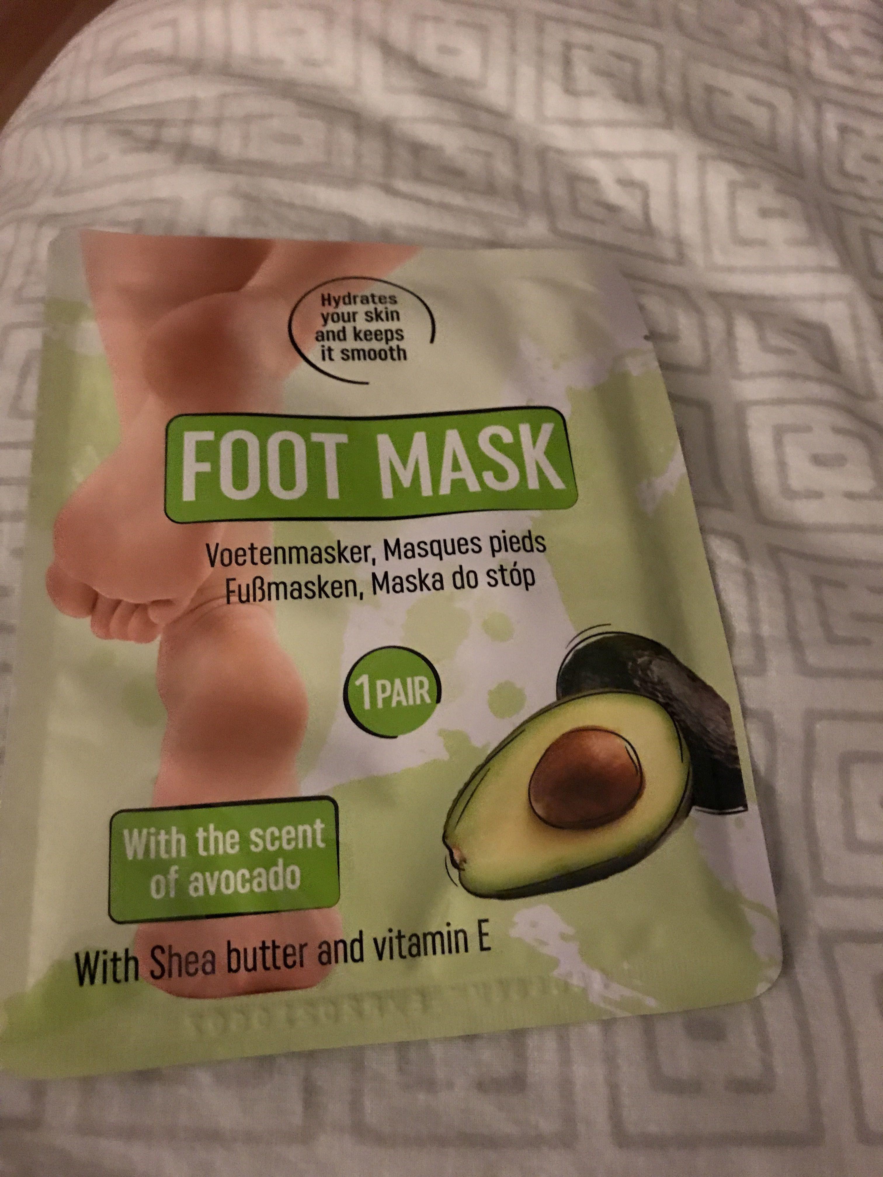 Masque pour les pieds - Product