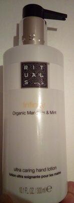 Infinity Organic Mandarin & Mint lotion ultra soignante pour les mains - Produit - fr
