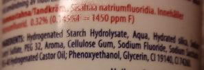 Pepsodent X-Fresh med munskölj Limemint Big Size - Ingredients