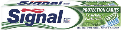 Signal Protection Caries Dentifrice Fraîcheur Naturelle Tube - Product - fr