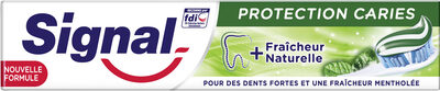 Signal Dentifrice Protection Caries Fraîcheur Naturelle - Product - fr
