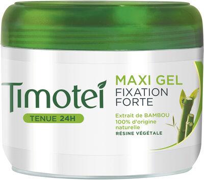 Timotei Maxi Gel Cheveux Fixation Extra Forte à L'Extrait de Bambou - Produit - fr
