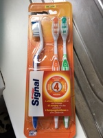 Signal Brosse à Dents 4 Actions Medium x4 - Product - fr