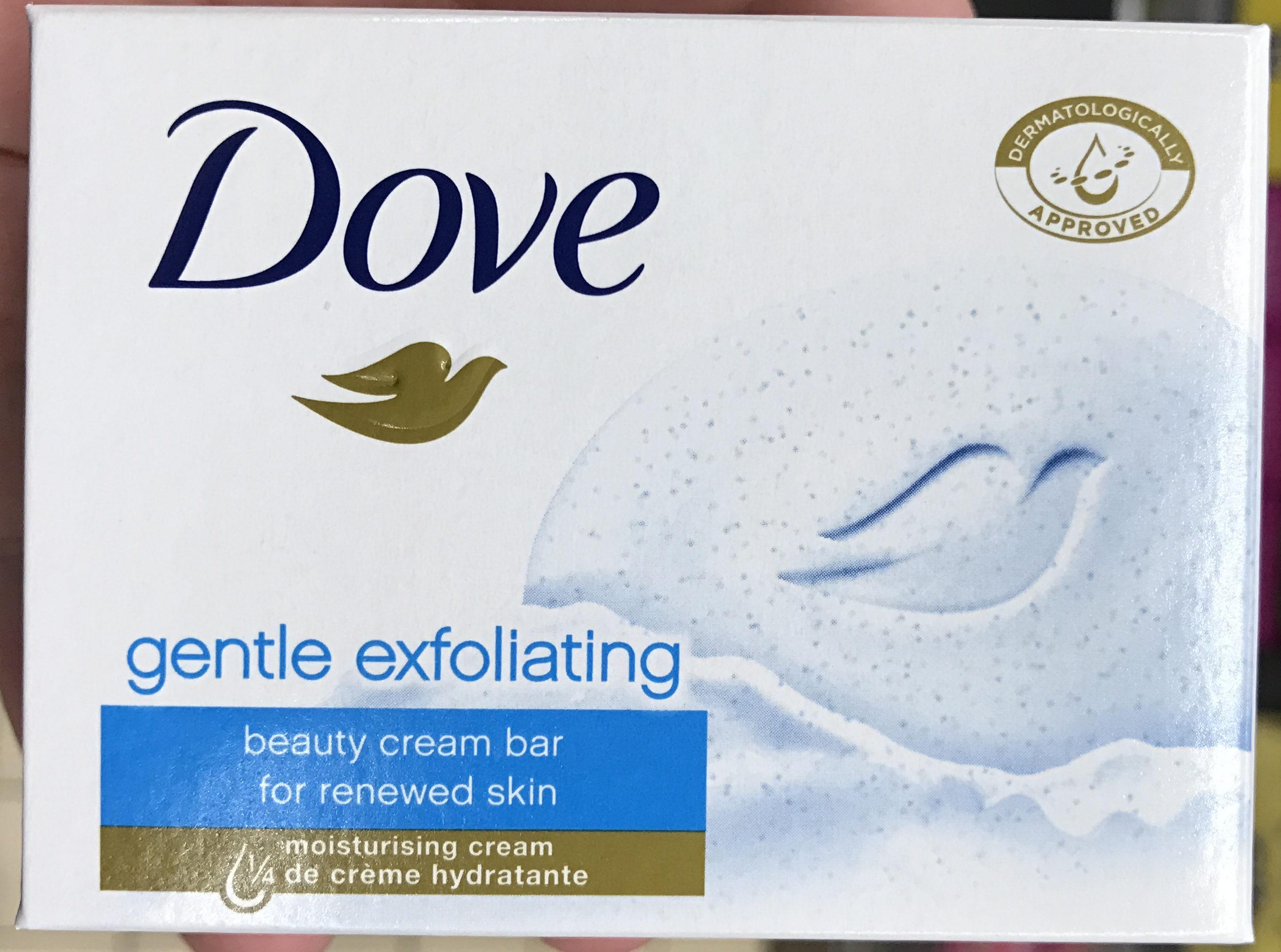 Gentle Exfoliating Beauty Cream Bar - Product