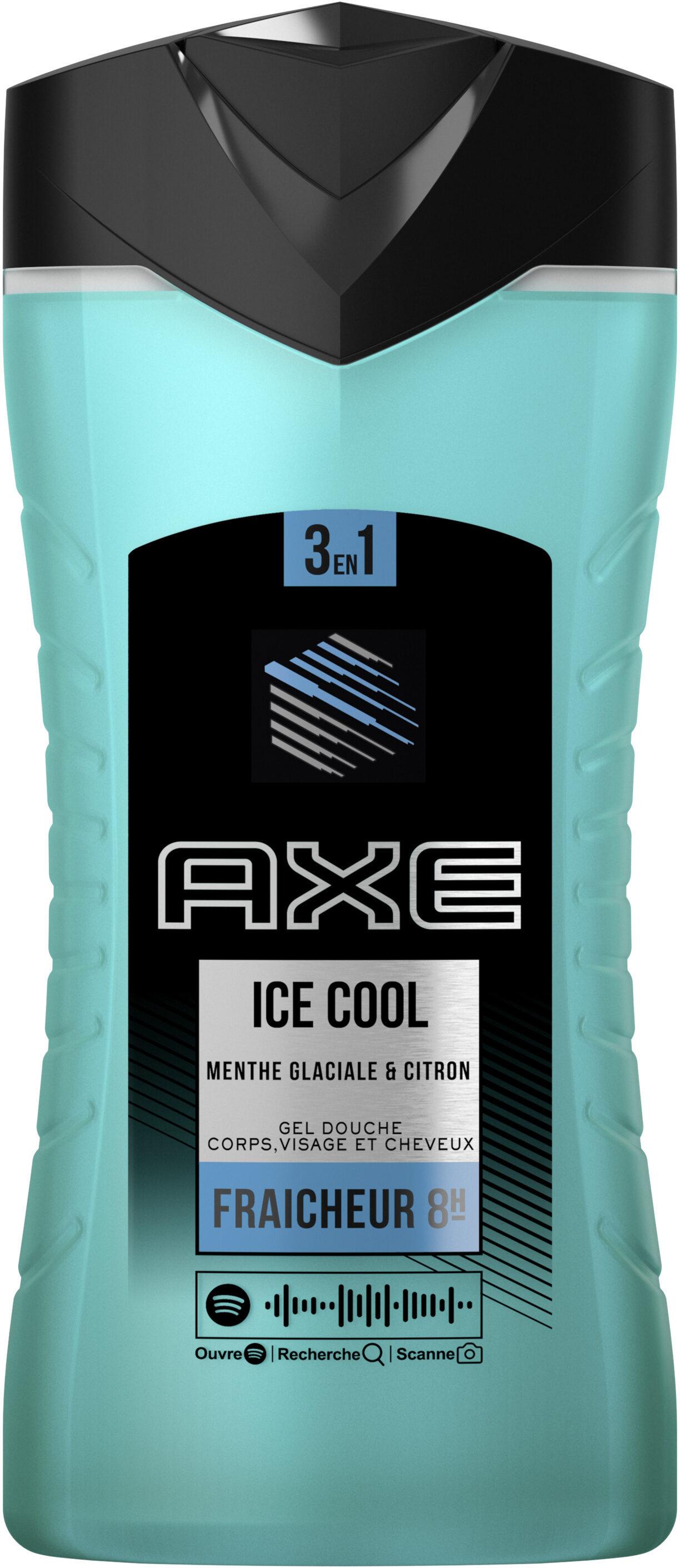 AXE Gel Douche 3en1 Ice Cool Fraîcheur Glaciale - Product - fr