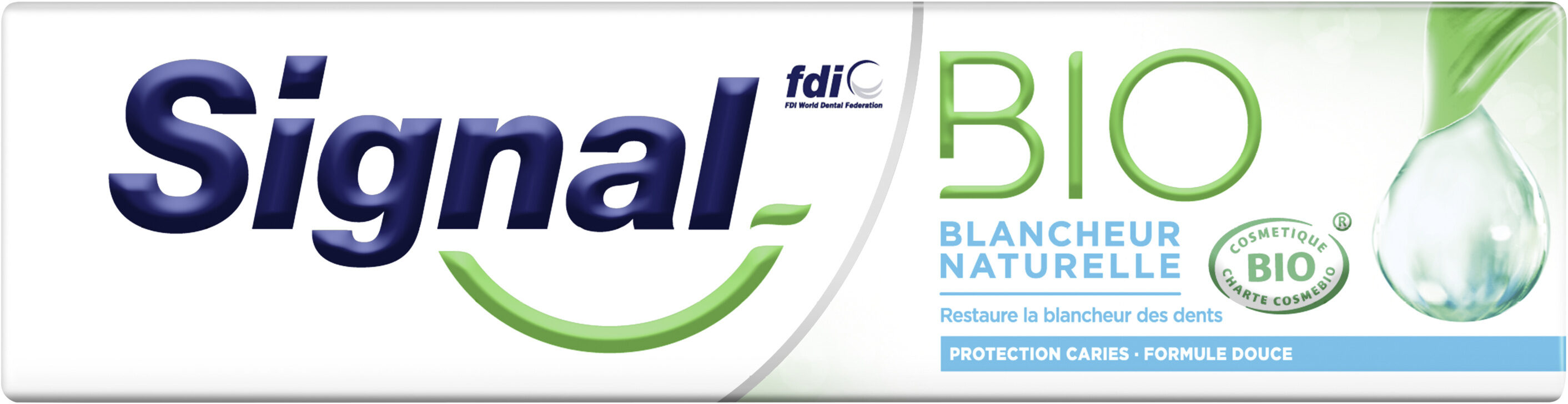 Signal Dentifrice Bio Blancheur Naturelle - Produit - fr