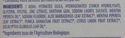 Bio Blancheur naturelle - Ingredients