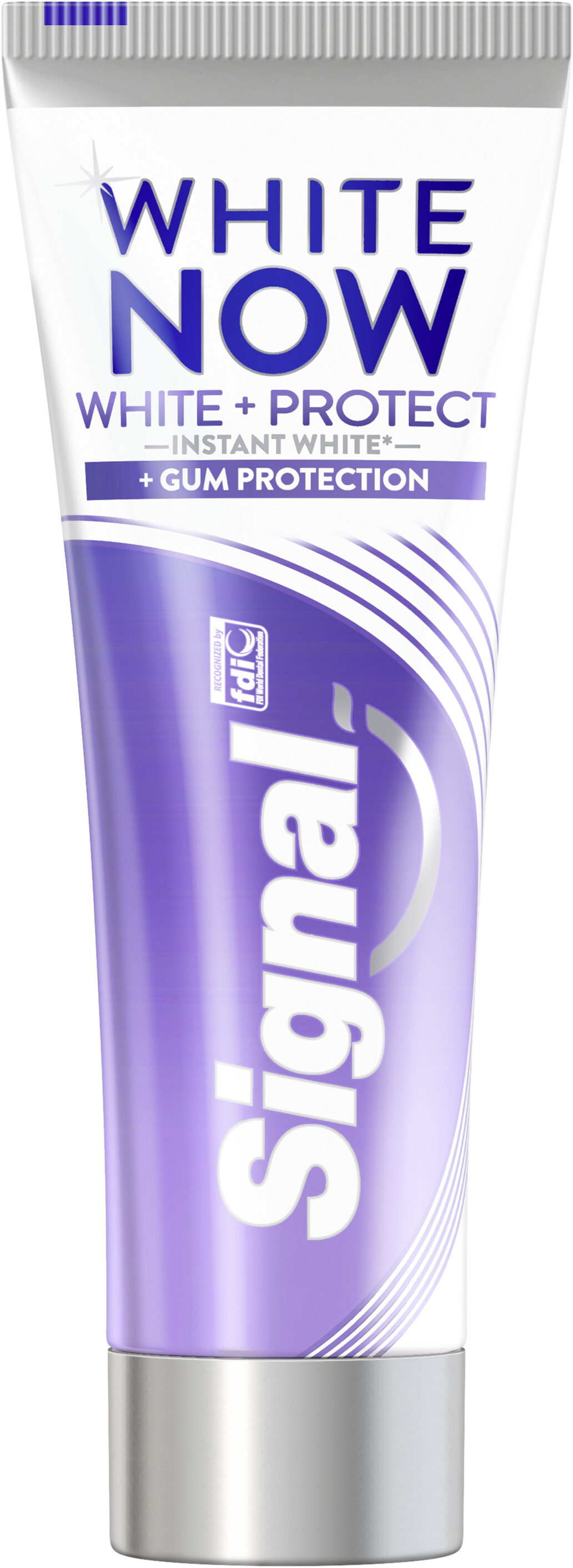 Signal White Now Dentifrice White + Protect Soin Gencives - Product - fr