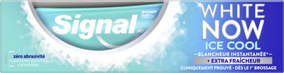 SIGNAL Dentifrice Blancheur White Now Ice Cool - Product - fr