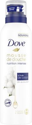 Dove Nutrition Intense Gel Douche Mousse à l'Huile de Coton 24h de Douceur Douche & Rasage - Product - fr
