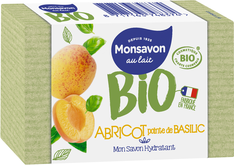 Monsavon Savon Lavant Antibactérien Abricot Basilic x1 - Product - fr