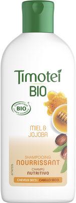 Timotei Bio Shampooing Femme Cheveux Secs Nourrissant au Miel et Jojoba - Produkt - fr