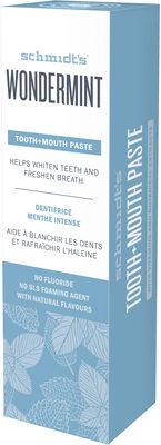 Schmidt's Dentifrice Wondermint - Product - fr