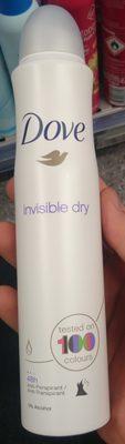 Dove Invisible dry - Produit