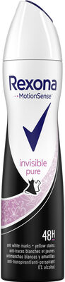 REXONA Déodorant Femme Spray Anti-Transpirant Invisible Pure - Product - fr