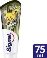 Signal Dentifrice Enfants Menthe Pokémon 7+ Ans - Produit - fr
