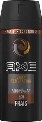 AXE Déodorant Bodyspray Homme Dark Temptation 48h Non-Stop Frais - Product - fr