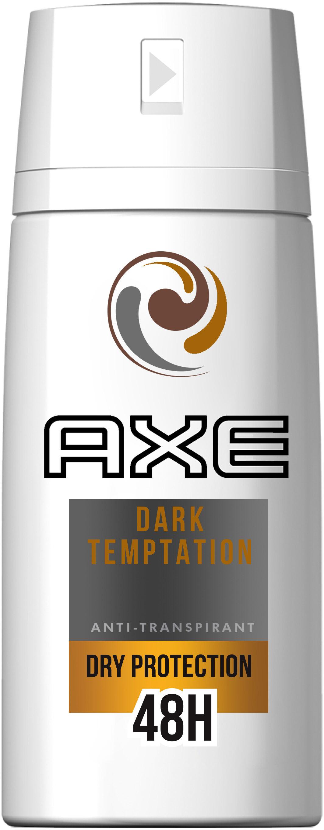 AXE Déodorant Homme Spray Antibactérien Dark Temptation - Product - fr