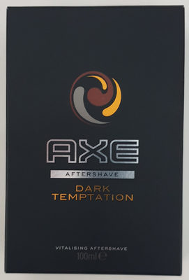 Axe aftershave dark temptation - Product