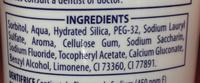 Signal Kids 2-6 ans - Goût fraise - Ingrédients