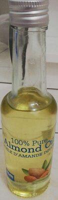 100% Pure Almond Oile - Huile d'Amande Douce - Produit