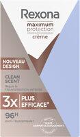 REXONA Stick Anti-Transpirant Maximum Protection Clean Scent - Product - fr