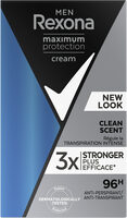 REXONA MEN Men Stick Anti-Transpirant Maximum Protection Clean Scent - Product - fr