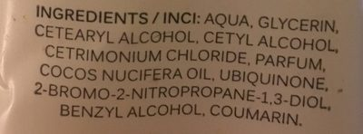 Coconut Care Käsirasva 100ML - Ingredients - fr