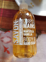 savon corps & mains douceur naturelle - Product