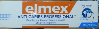 Dentifrice anti-caries - Product