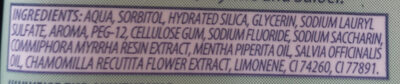 Dentagard - Ingredients