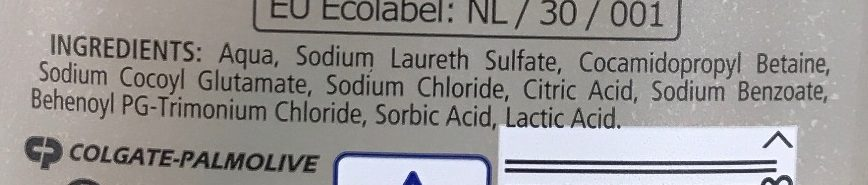 Shampoing Zero % - Ingredients