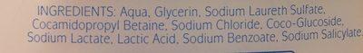 Zéro sensitive - Ingredients