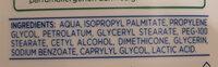 ZERO% lait corps hydratant - Ingredients - en