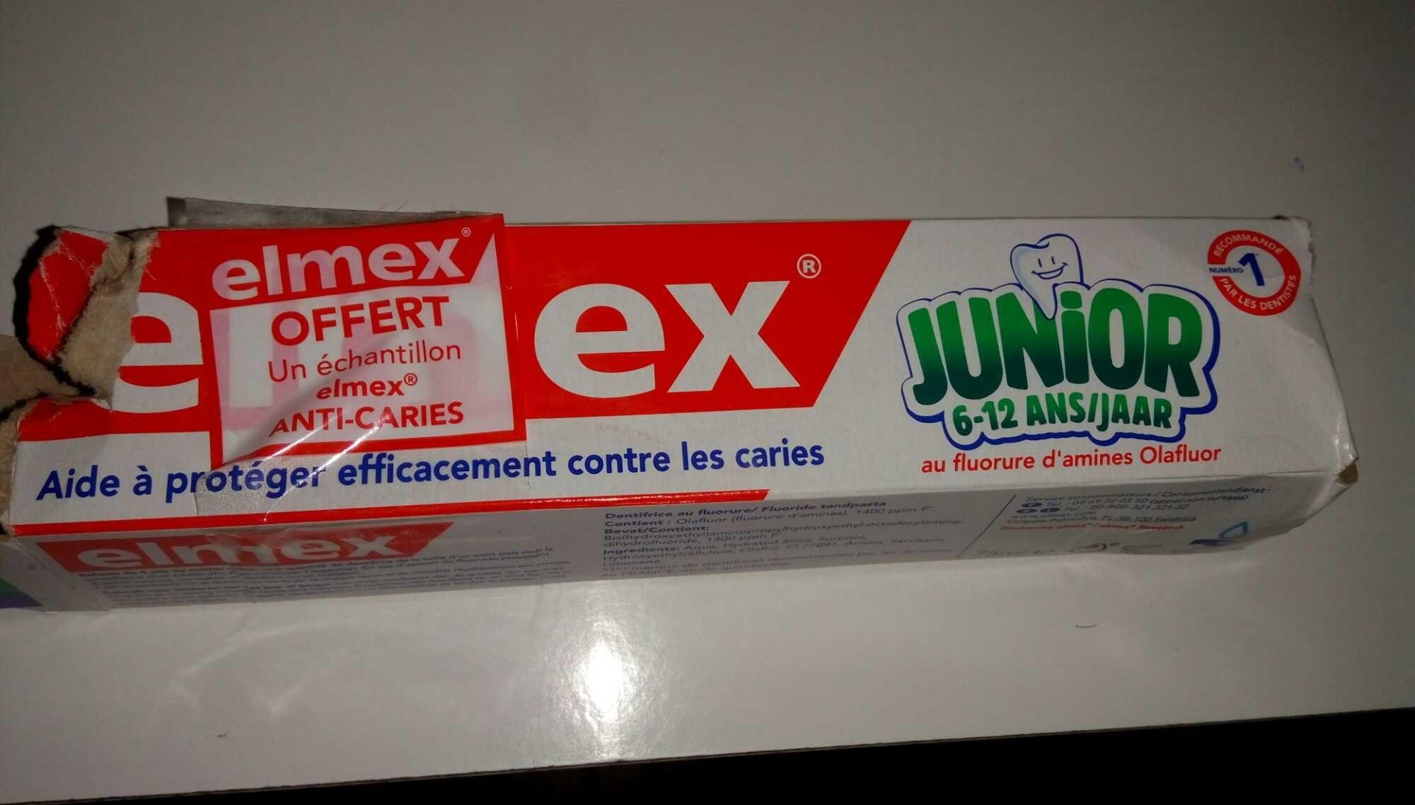 Elmex junior - Product - fr