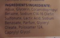 Zero % - Ingredients - fr