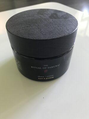 The Ritual of Samurai shave cream - Product