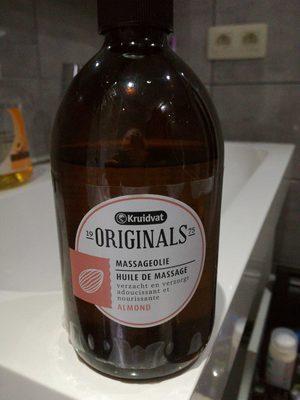 Originals huile de massage almond - Produit
