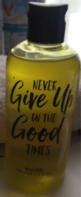 Never give up on the good times - Product