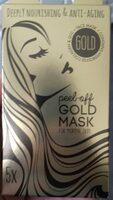 Peel-off gold mask for normal skin - Product