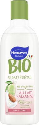 Monsavon Gel Douche Certifié Bio et Vegan Au Lait d'Amande - Produit - fr