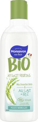 Monsavon Gel Douche Bio et Vegan Au Lait de Riz - Produit