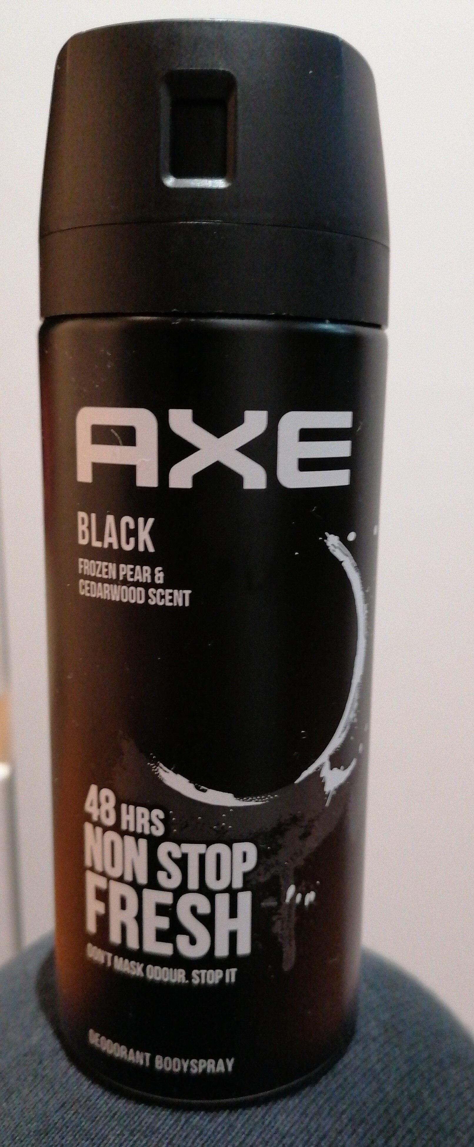 AXE Black Frozen pear & Cedarwood scent - Produit - es