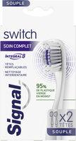 Signal Brosse à Dents Switch Têtes Remplaçables Integral 8 Soin Complet x 2 - Product - fr