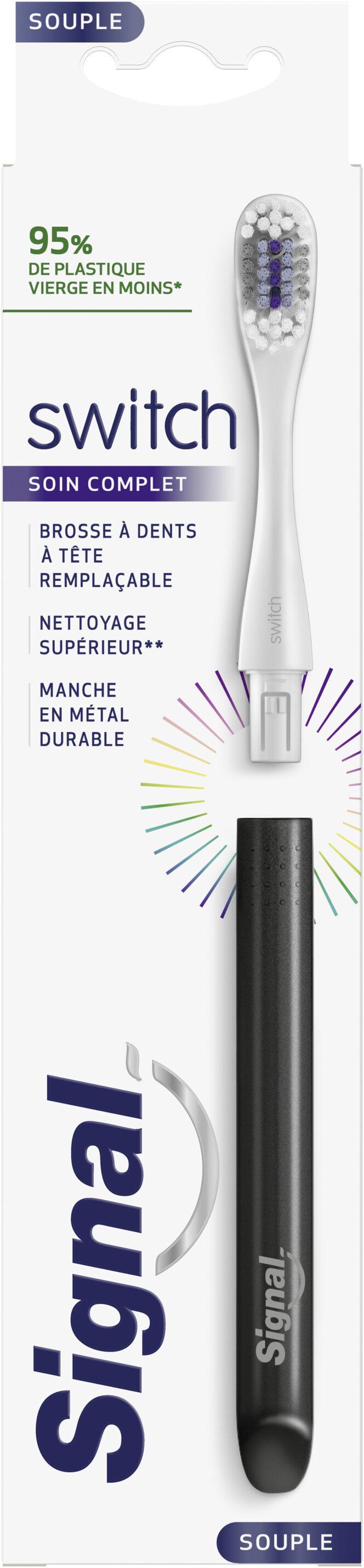 Signal Brosse à Dents Tête Remplaçables Switch Starter Kit x 1 - Product - fr