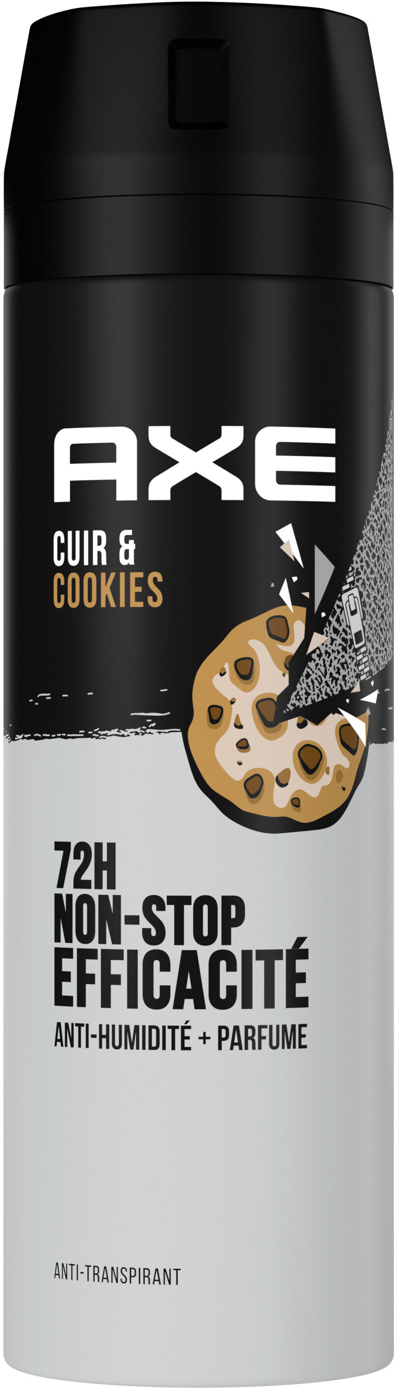 AXE Anti-Transpirant Homme Collision Cuir & Cookies 72h Anti-Humidité - Product - fr