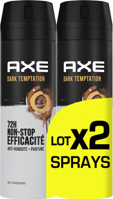 AXE Anti-transpirant Homme Dark Temptation 72h Anti-Humidité Lot 2x200ml - Product - fr