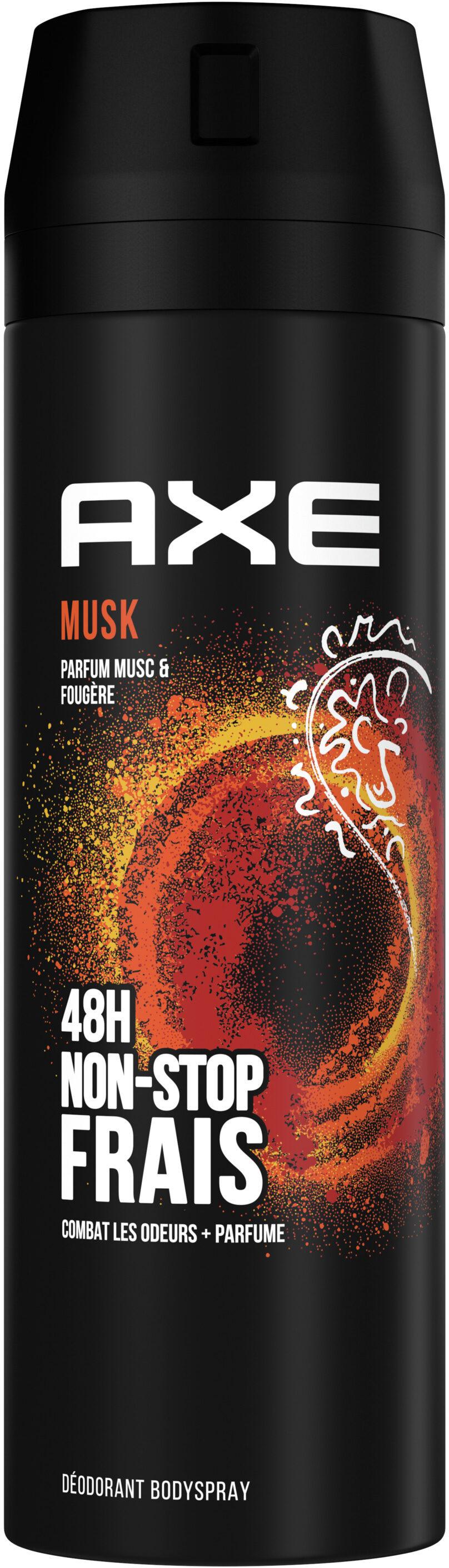AXE Déodorant Homme Bodyspray Musk 48h Non-Stop Frais - Продукт - fr