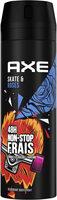 Axe Déodorant Bodyspray Skate & Roses 48h Non-Stop Frais - Product - fr